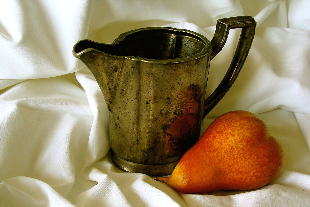 still life with a pear ... by anisja