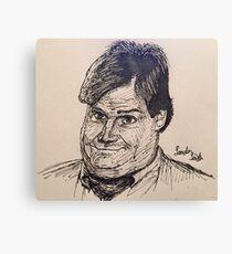 """Fat Guy In A Little Coat"" Canvas Print"