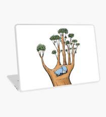 Tree Hand with Cute Sleepy Koala Laptop Skin