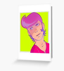 space boy Greeting Card