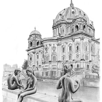 The Berliner Dom, Berlin Germany by MeaghanR