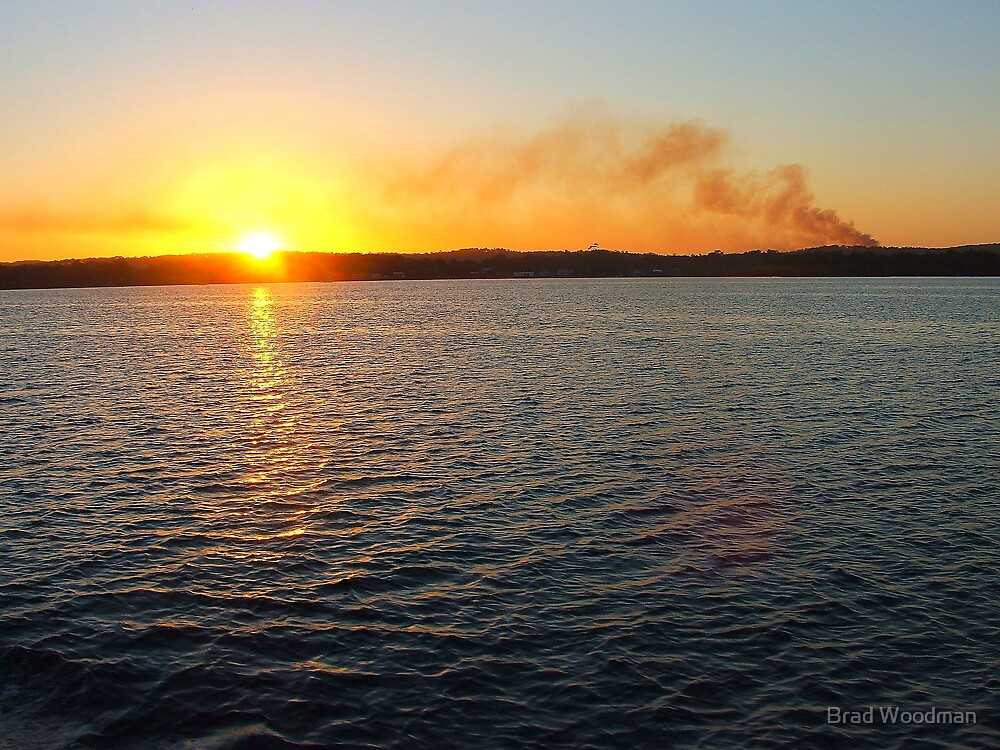 Fire In The Sky by Brad Woodman