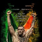 Notorious Conor McGregor holding up the Irish flag by bigtimmystyle