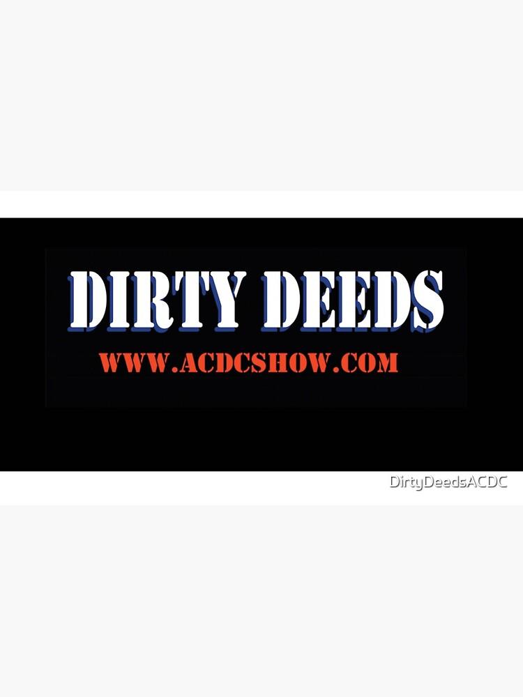 Basic logo design by DirtyDeedsACDC