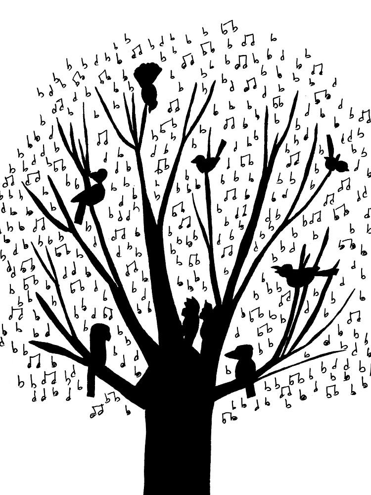 Musical Tree - Australian Bird Calls by eddcross