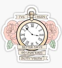 Lydia - Traditional Pocket Watch Sticker