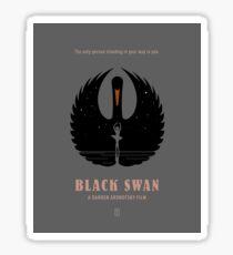 Black Swan Sticker
