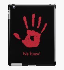 The Dark Brotherhood iPad Case/Skin