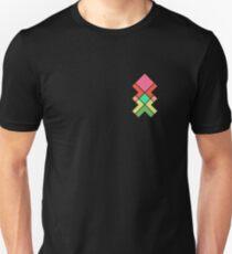 Upwards geometric Design T-Shirt