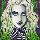 Ghoul Gothic Portrait by Rebecca Sinz