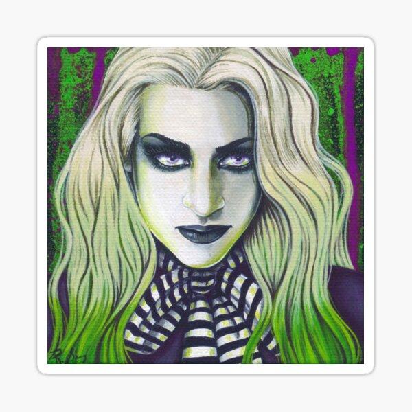 Ghoul Gothic Portrait Sticker