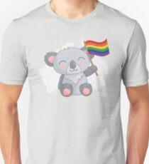 Cute Australian Koala LGBT Gay Pride  T-Shirt