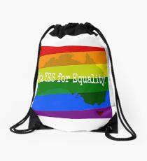 Marriage Equality Vote YES Australia Drawstring Bag