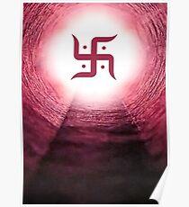 Hinduism (Swastika) Poster
