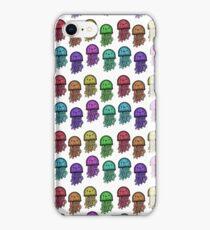 Rainbow Jellyfish Pattern iPhone Case/Skin