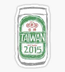 Taiwan 2015 Sticker