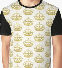 Keep Calm I am The Wedding Planner | Gold On Ivory Background Graphic T-Shirt