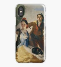 The Parasol 1777 Francisco Goya iPhone Case/Skin
