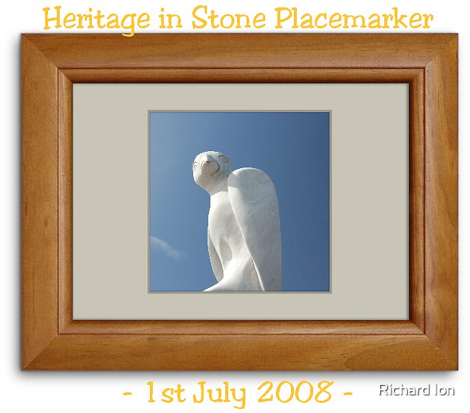 Heritage in Stone Placemarker - July 2008 by Richard Ion