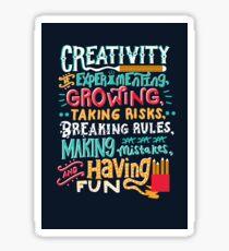 Creativity Sticker