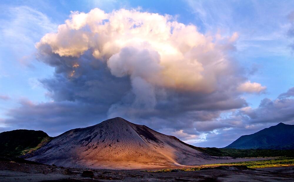 Quot Yasur Volcano Quot By Tom Genek Redbubble