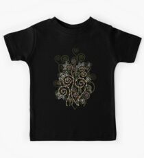 Boho Ethnic Spiral Dreams II Kids Clothes