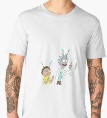 Rick And Morty Middle Finger  Men's Premium T-Shirt