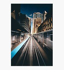 railway station Photographic Print