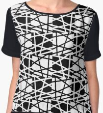 Black and White - Art - Gay Pride Women's Chiffon Top