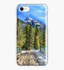 Snowy Mountain Pass iPhone Case/Skin