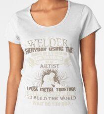 Welding Graphic Welder gift  Welding Shirt Women's Premium T-Shirt