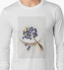 blueberry Long Sleeve T-Shirt
