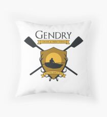 GoT Gendry - Rowing Since 2013 (Light Colored Tees) Throw Pillow