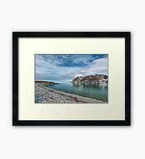 Magdalenafjord in Svalbard islands, Norway Framed Print