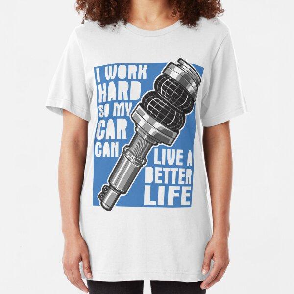 I Work Hard So My Lexus Is Can Live A Better Life Car Fan T Shirt