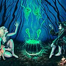 Witches' Cauldron by Rebecca Sinz