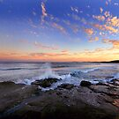 Sunset Soldiers Beach by sashawood