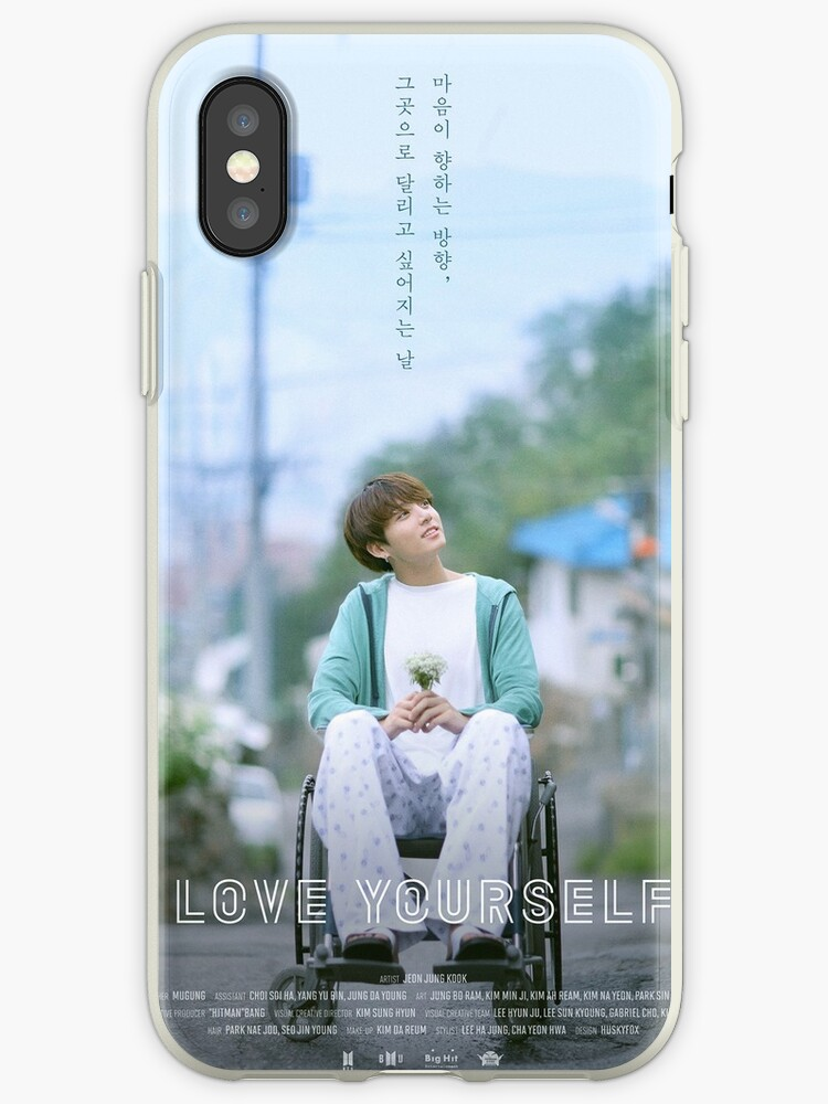 'BTS LOVE YOURSELF JUNGKOOK' iPhone Case by BTS-EMPORIUM