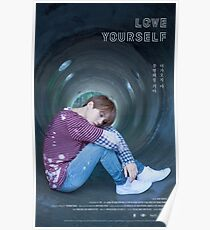 BTS LOVE YOURSELF SUGA Poster