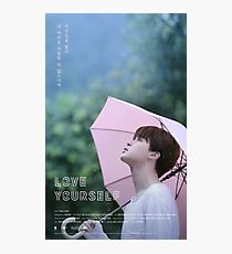 BTS LOVE YOURSELF JIMIN Photographic Print