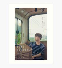 BTS LOVE sich selbst RM Kunstdruck