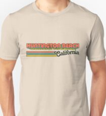 Huntington Beach, CA | City Stripes T-Shirt