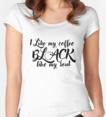 Mornings... Women's Fitted Scoop T-Shirt