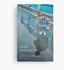 BTS LOVE YOURSELF V Metal Print