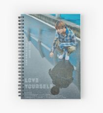 BTS LOVE YOURSELF V Spiral Notebook