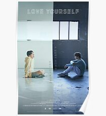 BTS LOVE YOURSELF J-HOPE & JIMIN Poster