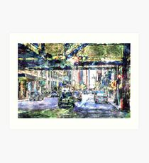 Scenes In The City Art Print