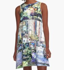 Scenes In The City A-Line Dress
