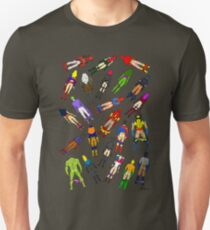 Butt of Superhero Villian - on Dark T-Shirt