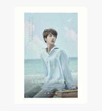 BTS LOVE YOURSELF JIN Art Print